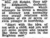 Jill Knight MP